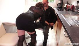 French Jacquie Et Michel Black Haired Laura Takes Humped In Laur…